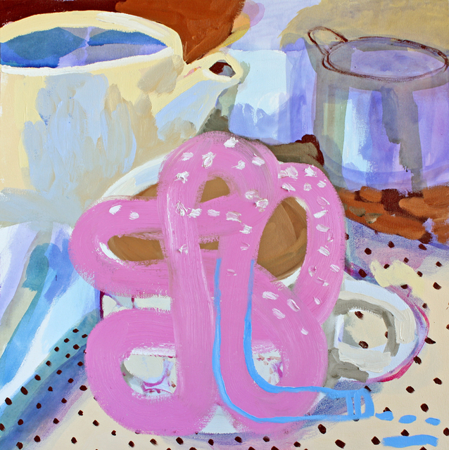 , 'Tea with Pink,' 2016, G. Gibson Gallery