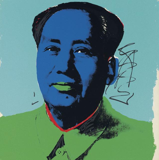 Andy Warhol, 'Mao', 1972, Print, From the portfolio of ten screenprints on Beckett High White paper, Coskun Fine Art