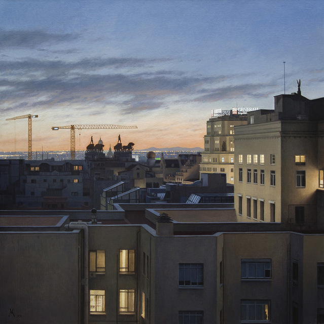 , 'Quadrigas Over Madrid (Cuadrigas Sobre Madrid),' 2015, Forum Gallery