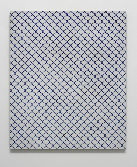 , 'Untitled (fence),' 2015, SpazioA