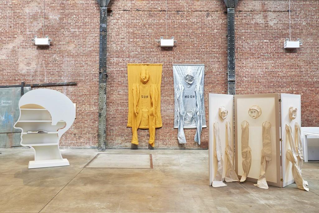 Installation view, Nicola L.: Works, 1968 to the Present, SculptureCenter, New York, 2017. Photo: Kyle Knodell