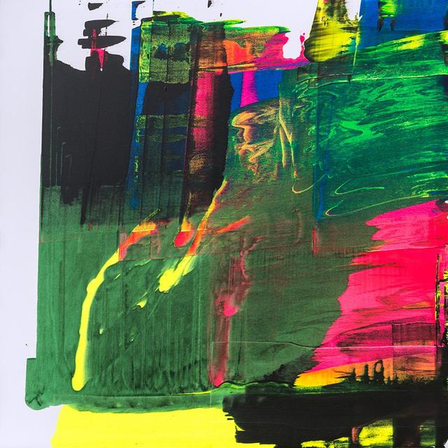 """, 'LUMINOUS PORTRAIT/STORM CHASER  48 x 48"""" $5,300.00,' , Exhibit by Aberson"""