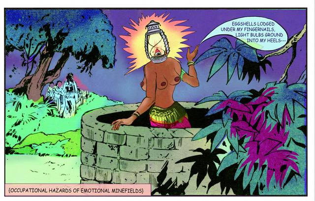 Chitra Ganesh, 'Lantern head,' 2013, Gallery Espace