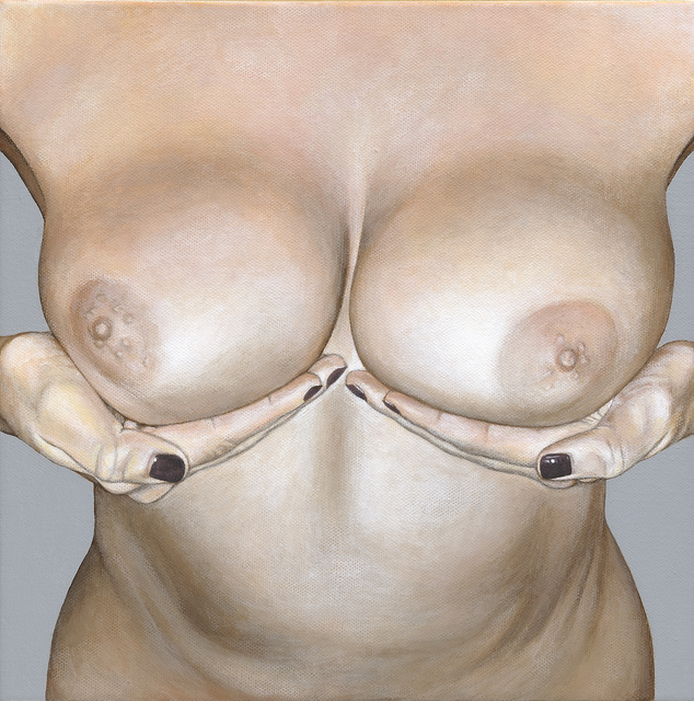 , 'Breast Portrait #9,' 2013, Catharine Clark Gallery