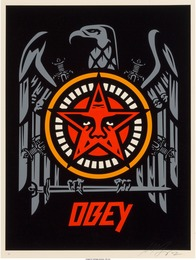 OBEY in Lesser Gods We Trust, Cash for Chaos