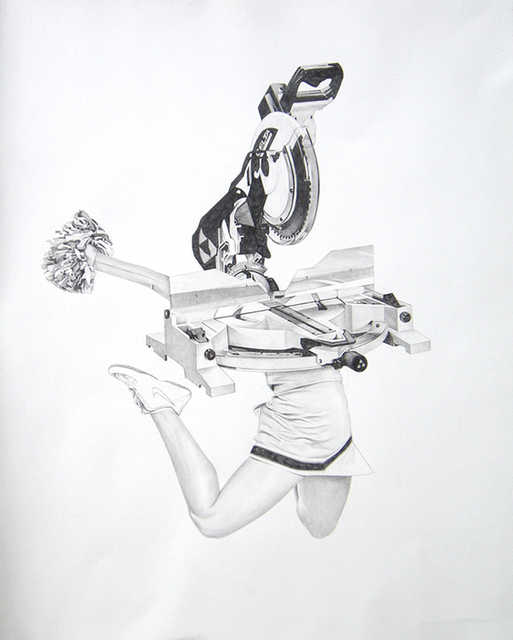 , 'Chop Saw Cheerleader,' 2015, Chimento Contemporary