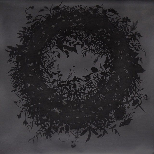 , 'Wreath 2 (Silhouette),' 2016, New Art Projects