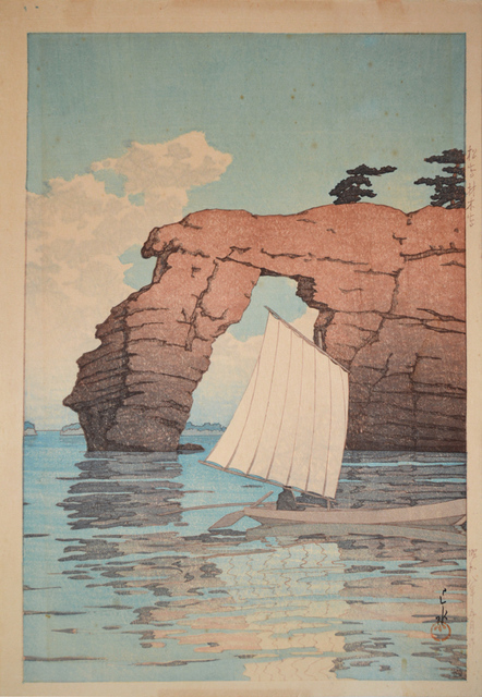 , 'Zaimoku Island in Matsushima,' 1933, Ronin Gallery