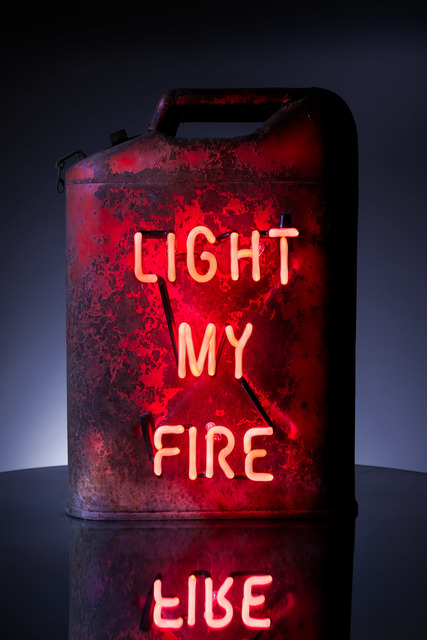 , 'Light My Fire (vintage red),' 2018, MAIA Contemporary