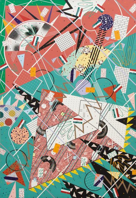 Lari Pittman, 'Untitled ', 1974-1975, Heather James Fine Art