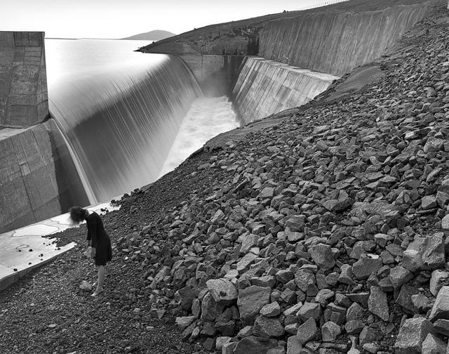, 'Self Portrait, Kárahnjúkar Dam, Iceland,' 2014, Vision Neil Folberg Gallery