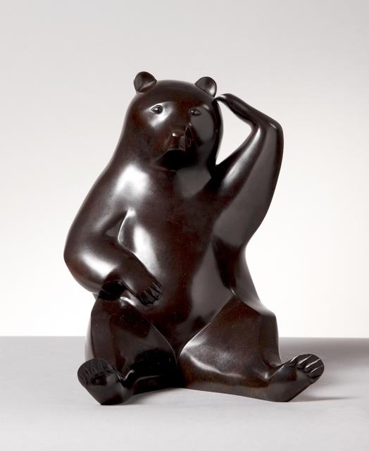 , 'Scratching Bear,' 2010, Galerie Dumonteil