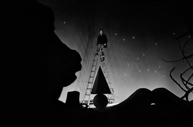 , 'Man on the ladder,' 1984, ILEX Gallery