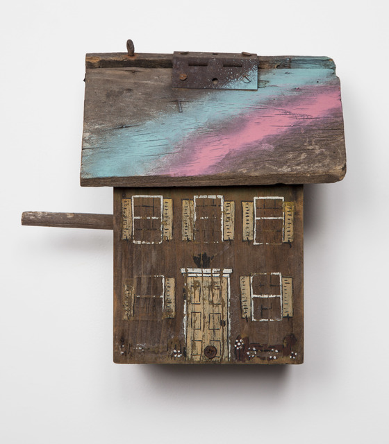 , 'Untitled (bird box),' 2014, Flowers