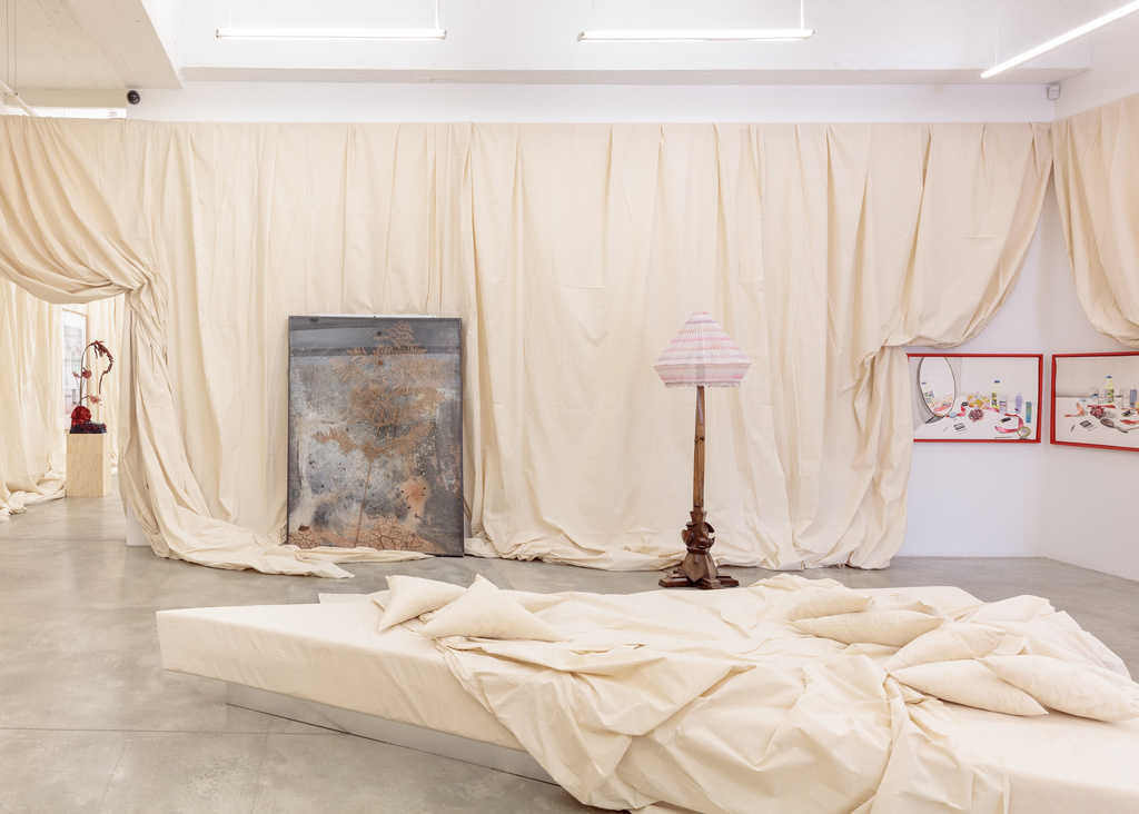 Installation view of For Mario, 2019. Image by Jeremy Haik.