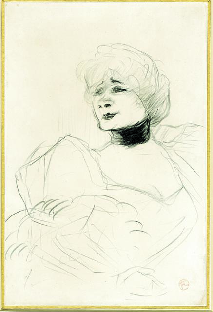 , 'Portrait of Marcelle Lender,' 1893-1895, British Museum
