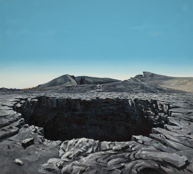 , 'Lava Field Pit,' 2017, Russo Lee Gallery