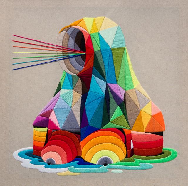 Okuda San Miguel, 'No Identity', 2016, Underdogs Gallery