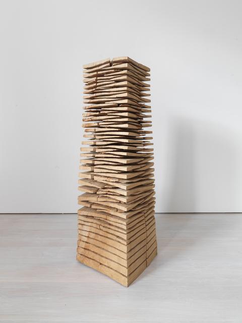 David Nash, 'Wedge Stack: Crack and Warp', 2014, Annely Juda Fine Art