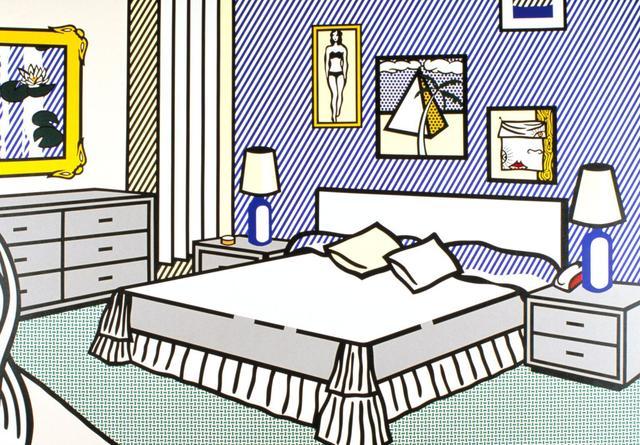 Roy Lichtenstein, 'INTERIOR WITH WATERLILIES', 1991, Dope! Gallery