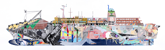 Dong Wan Kook, 'A Ferry', 2016, Gallery Chosun