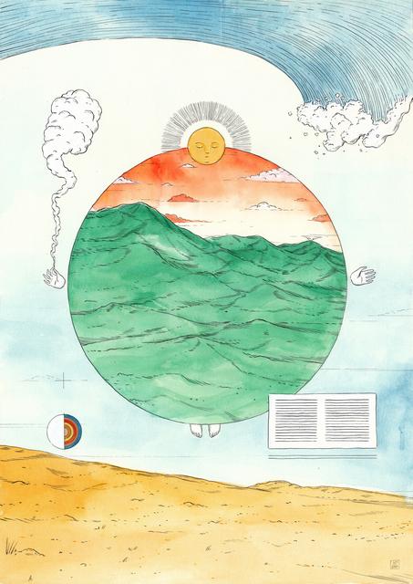 , 'Mappa Mundi #1: Everything in its right place,' 2020, David Krut Projects