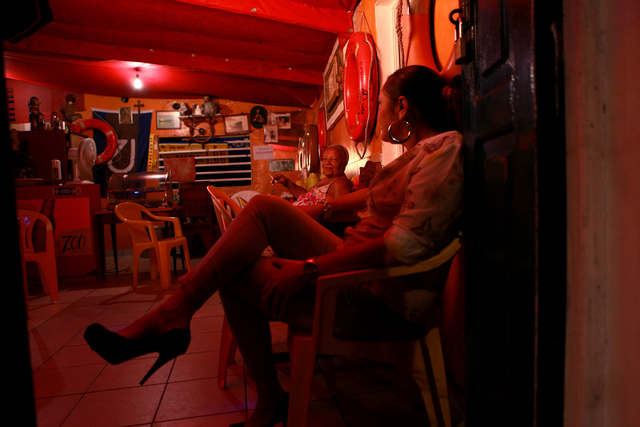 , 'Manilas Bar – Casa da Marinalva, from the series Em torno dos meus marítimos   ,' 2014, Galeria Nara Roesler