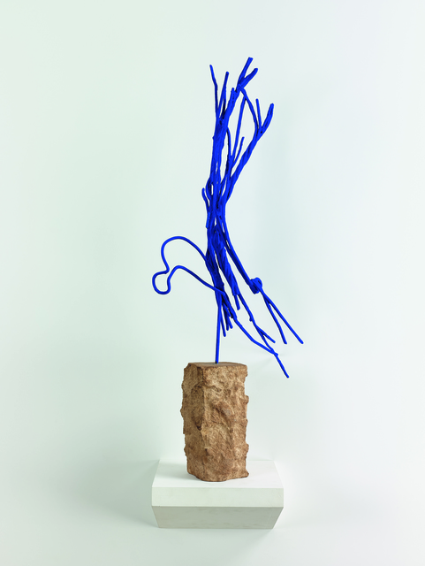 , 'Untitled sculpture,' Work created by Yves Klein in 1957, 1958 , Posthumous edition from 2001, Cayón
