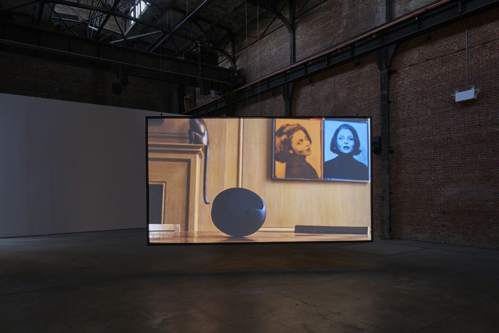 Carissa Rodriguez, The Maid, 2018, installation view, SculptureCenter, New York, 2018. 4K video with sound. 12:22 minutes. Courtesy the artist and Karma International, Zurich/Los Angeles. Photo: Kyle Knodell