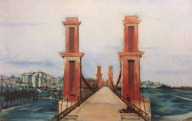 , 'Pont suspendu (Paris),' 1933, W&K - Wienerroither & Kohlbacher