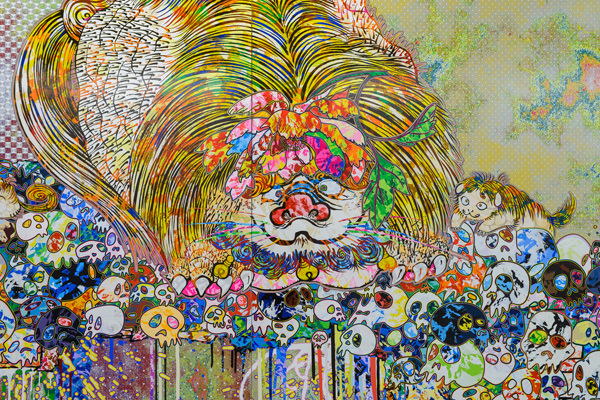 , 'Lion Occupying the Throne in My Heart,' 2018, PinchukArtCentre