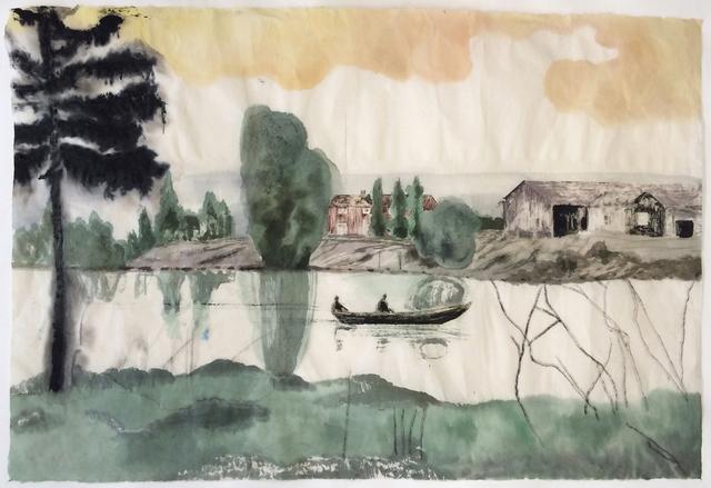 , 'Punt,' 2014, Galleri Magnus Karlsson