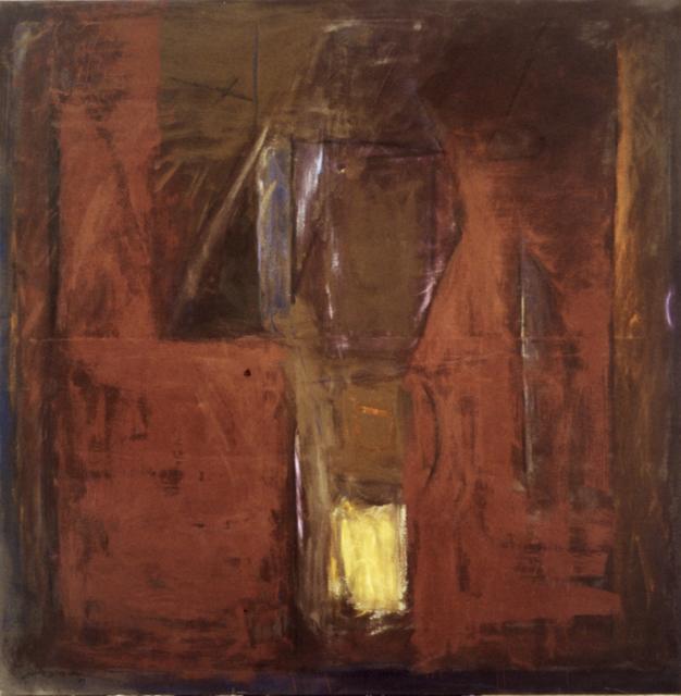 , 'Roig nocturn,' 1989, Fernández-Braso