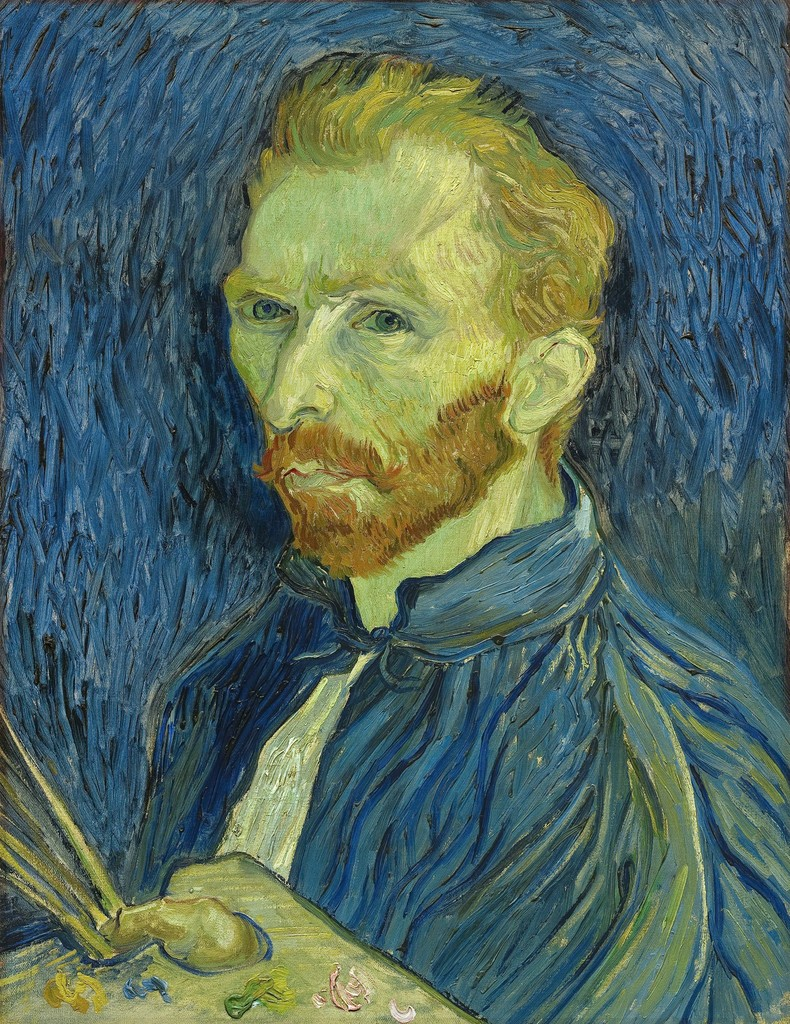 Vincent van Gogh, 'Self-Portrait,' 1889, National Gallery of Art, Washington, D.C.