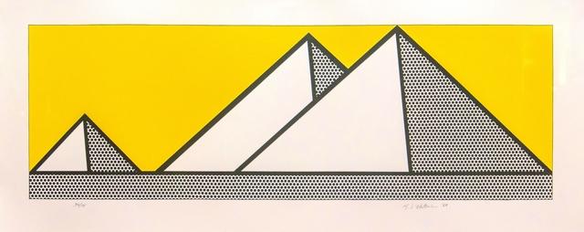 , 'Pyramids,' 1969, Galerie Klaus Benden