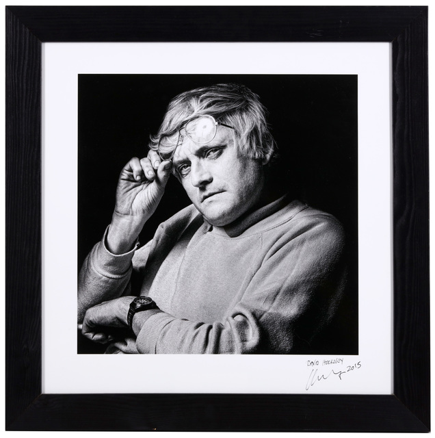 Clive Arrowsmith, 'David Hockney', 2015, Chiswick Auctions