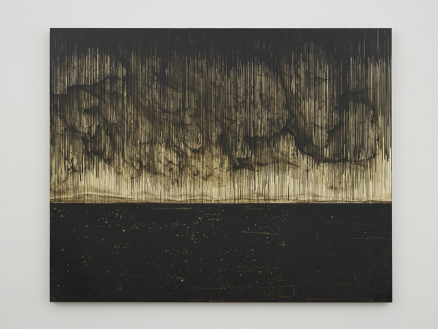 , 'Golden (Obsidian Sea),' 2014, MASS MoCA