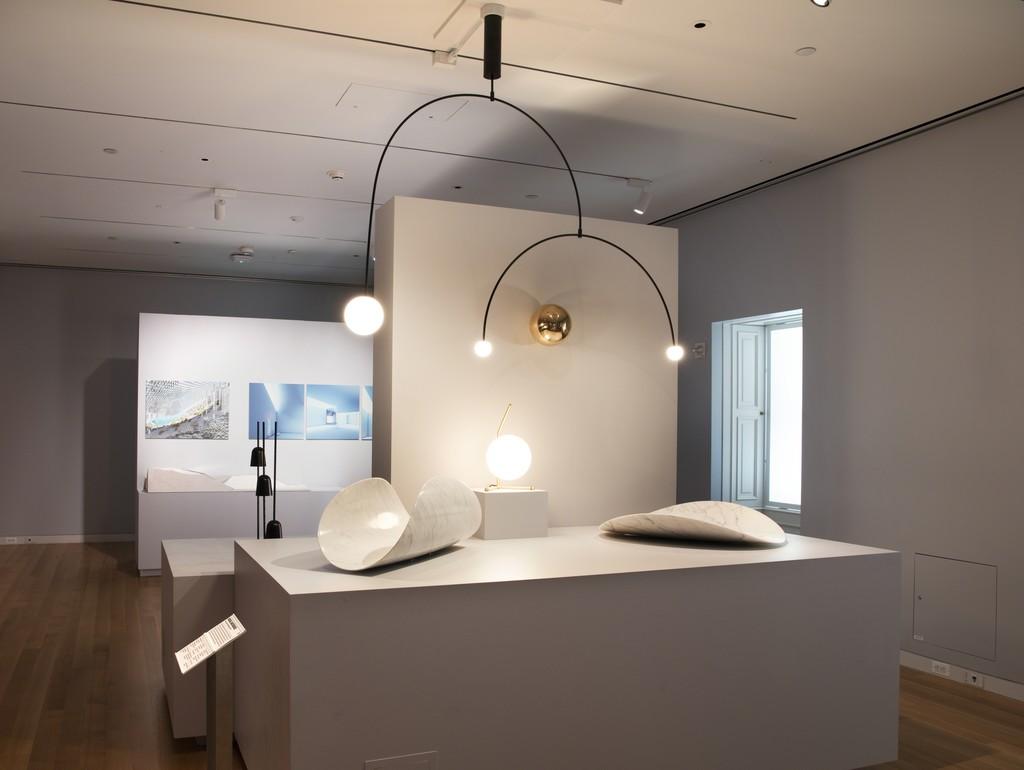 """Installation view of """"Beauty—Cooper Hewitt Design Triennial."""" Photo by Matt Flynn © 2016 Cooper Hewitt, Smithsonian Design Museum"""