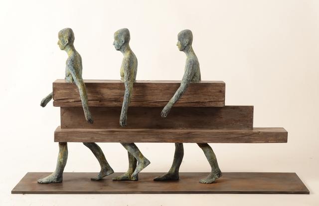 , 'Caminantres,' 2017, Hugo Galerie