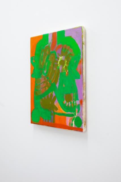 , 'Orange + Green Garden Head,' 2018, Mrs.