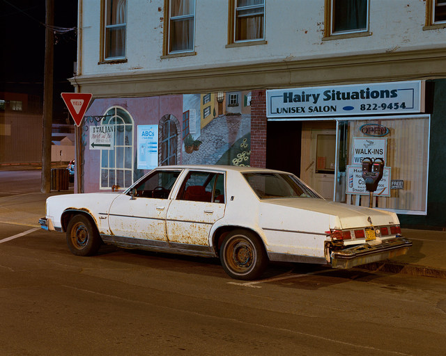, 'White Car, Hudson, New York,' 2016, Tracey Morgan Gallery