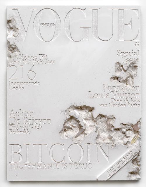 , 'Quartz Eroded Dutch Vogue Magazine,' 2018, Galerie Ron Mandos