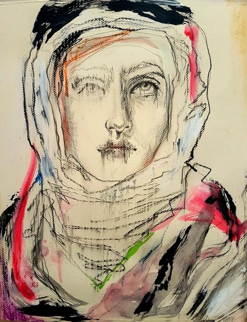 , 'Gibran's Muse,' 2018, Janet Rady Fine Art