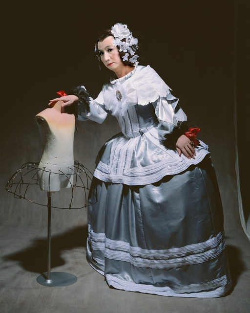 """Yasumasa Morimura, '""""Living the realm of the painting (THE LEANING  MAID OF HONOR)""""', 2013, Photography, C-Print on dibond, framed (Ed. of 10 + 1 A.P.), Galería Juana de Aizpuru"""
