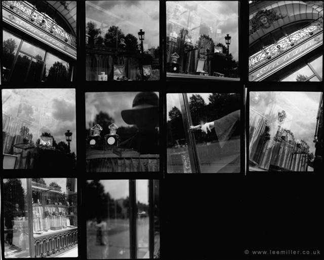 Lee Miller, 'contact sheet , Guerlain shopfront, Paris', 1930, °CLAIRbyKahn Galerie
