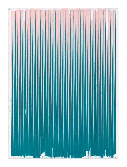 , 'Lonely Planet (Salmon Pink / Cobalt Turquoise),' 2016-2017, Gavlak
