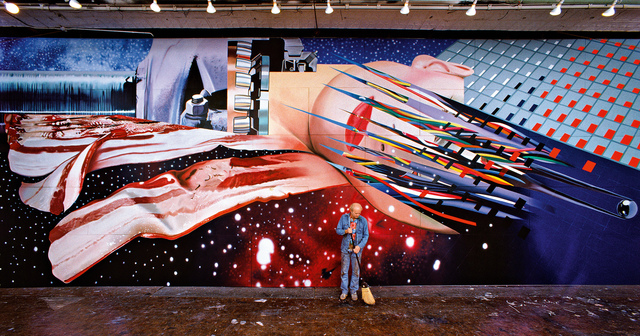 , 'Portrait of James Rosenquist in front of Star Thief,,' 1980, Museum Ludwig