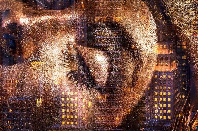 David Drebin, 'Golden Eye', 2017, Isabella Garrucho Fine Art