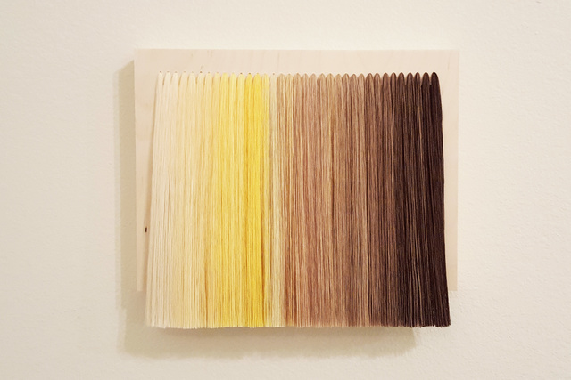 , 'Accumulation (Yellow and Brown),' 2016, Ro2 Art