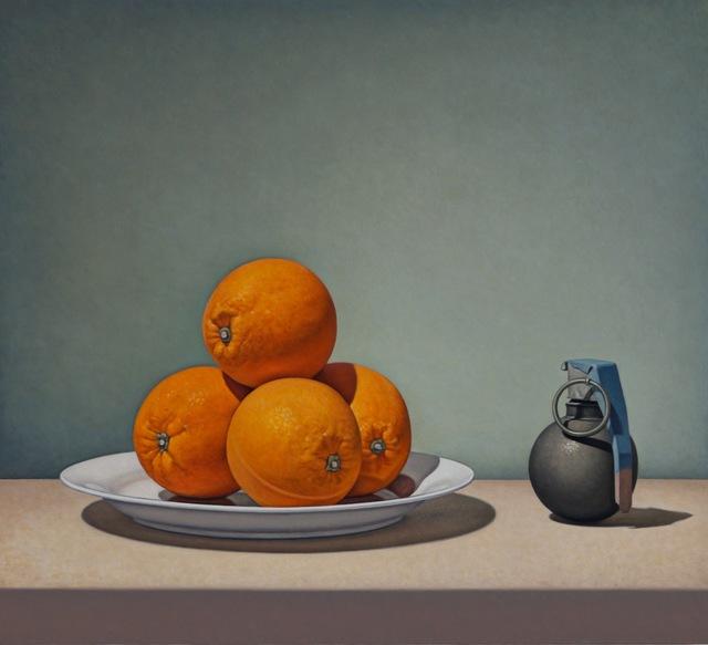 , 'Grenade and Oranges,' 2018, George Billis Gallery